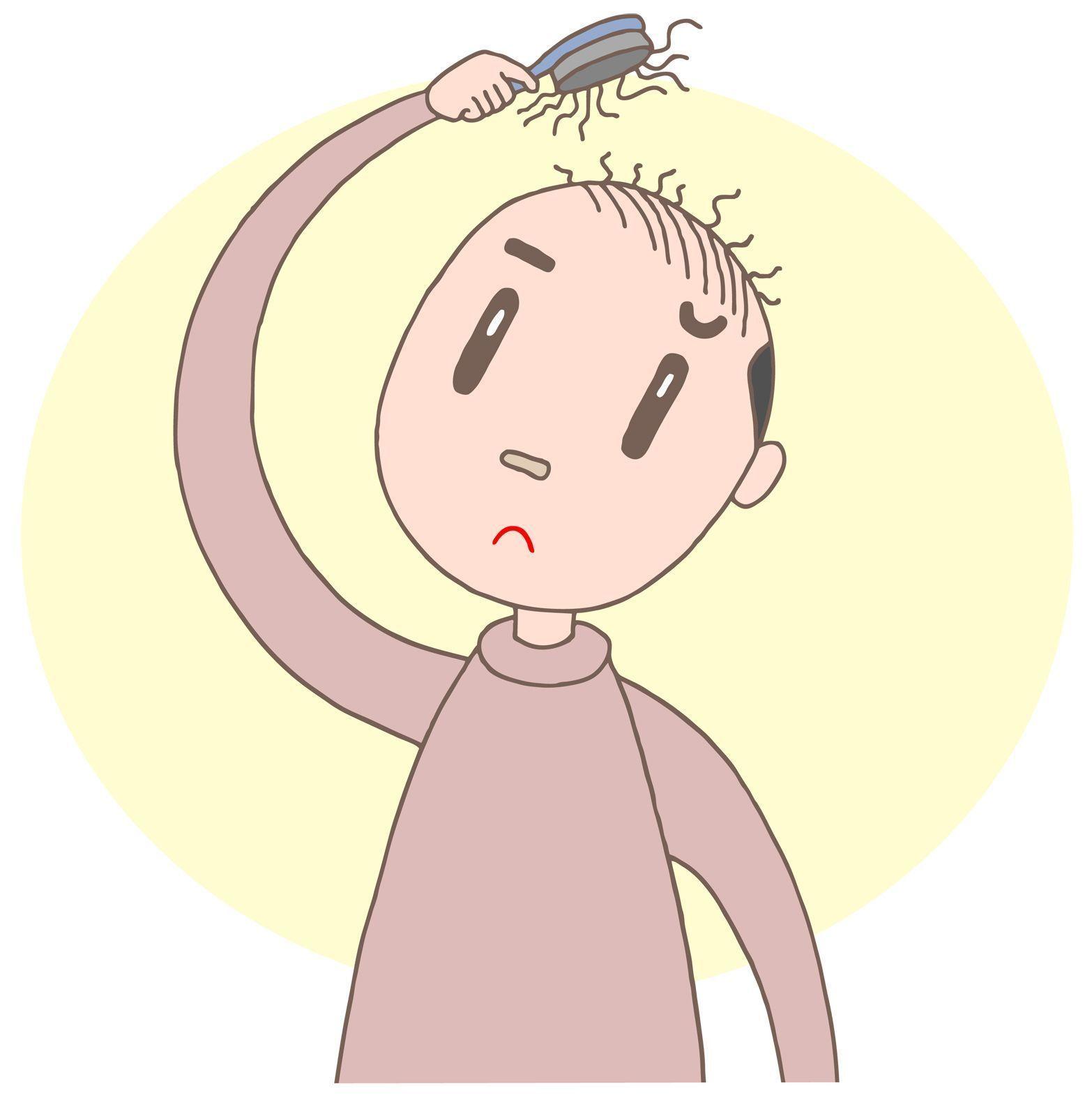 頭頂部ハゲを隠せなくなる前に!特徴、適切な対策・治療法を紹介