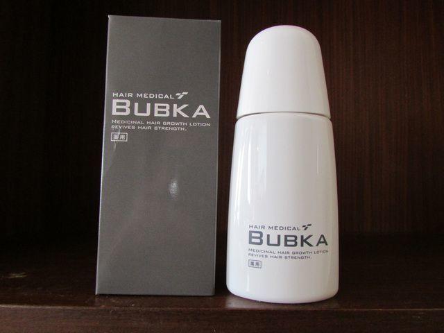 【口コミあり】育毛剤BUBKA(ブブカ)は効果ある?副作用、期間・使い方まとめ