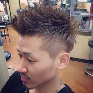 髪型 ツーブロックモヒカン