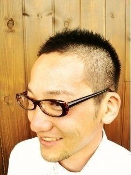 髪型 ツーブロック(ベリーショート)