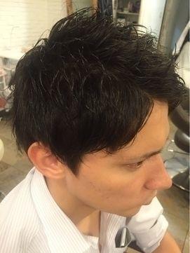 髪型 ショートレイヤー