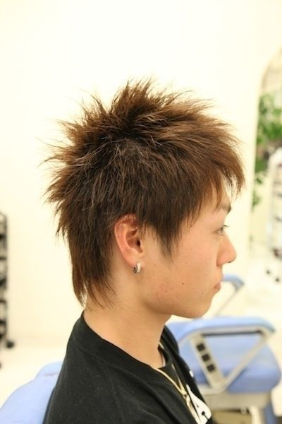 髪型 1.ソフトモヒカン
