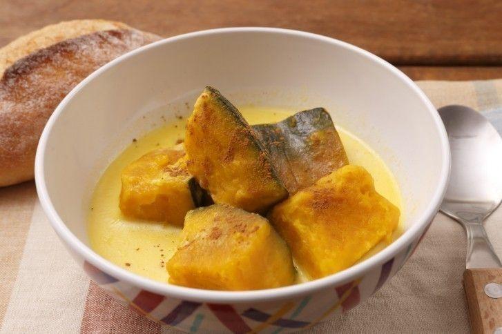 生活習慣 2.かぼちゃのミルク煮
