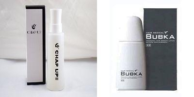 育毛剤 チャップアップとBUBKA(ブブカ)の徹底比較