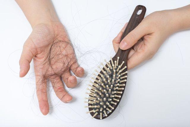 フィンジア 1. ブラシで髪をとかす