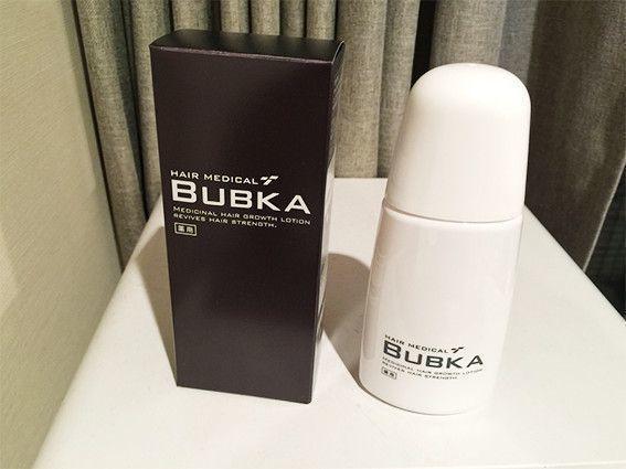 育毛剤 新型BUBKA