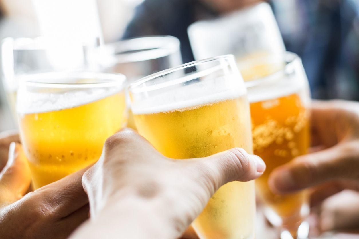 O字ハゲ(頭頂部ハゲ/つむじハゲ) 飲酒は適度であれば効果的!