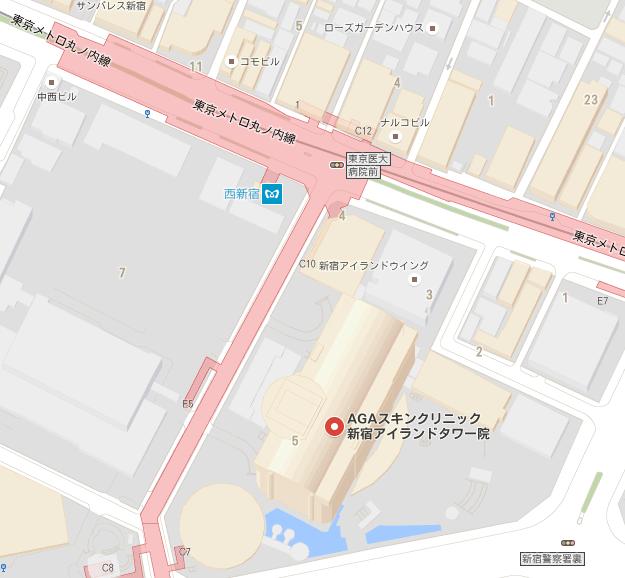 AGA専門クリニック 新宿アイランドタワー院