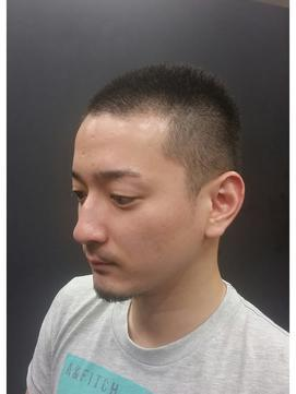 髪型 2.シンプルナチュラル坊主