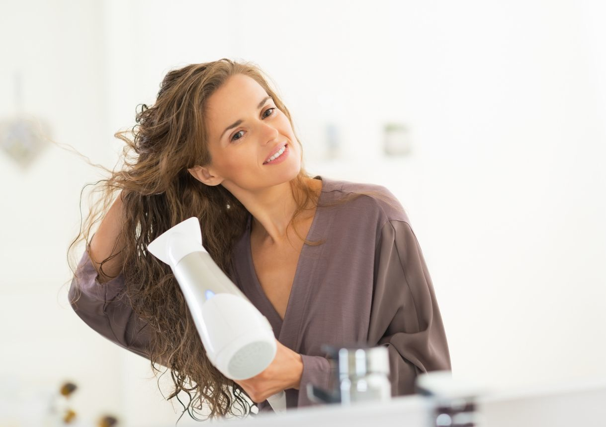 薬用ベルタ育毛剤 7.1〜2分浸透させて、ドライヤーで乾かす