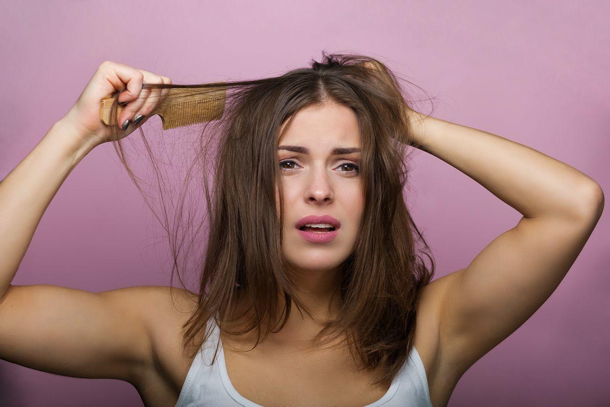 牽引性脱毛症 ブラシやヘアアイロンの使い過ぎ