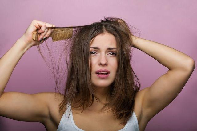 びまん性脱毛症 髪の毛のダメージ