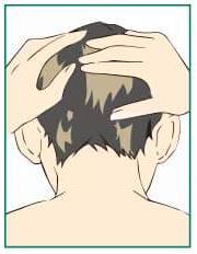 育毛剤 3.有効成分を浸透させる