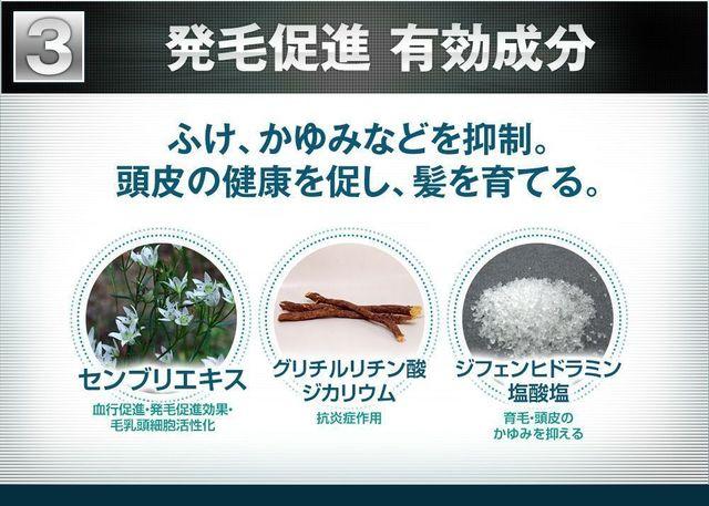 プランテルEX 医薬部外品として承認「トリプル有効成分」