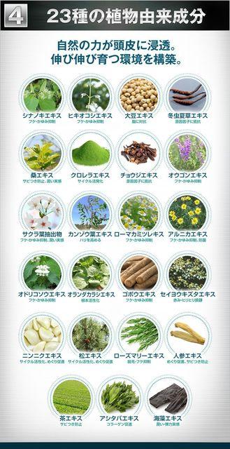 プランテルEX 23種類の植物由来成分