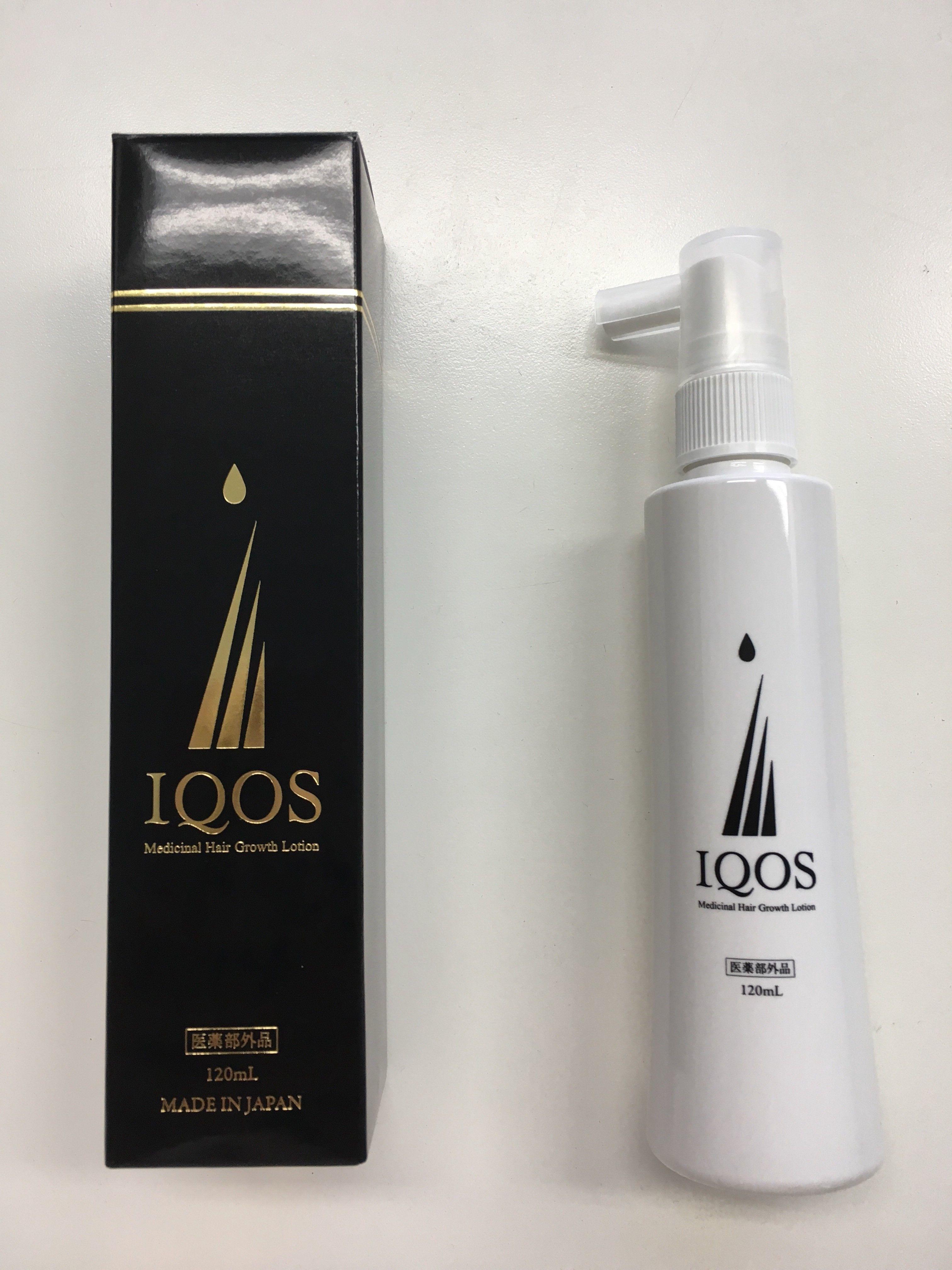 天然無添加育毛剤<IQOS>