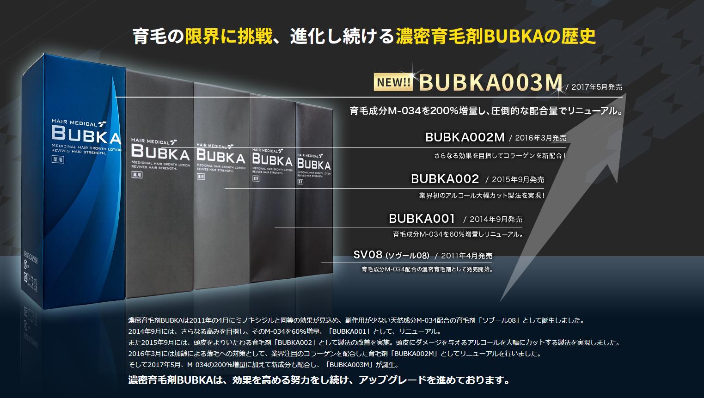 BUBKAの体験談